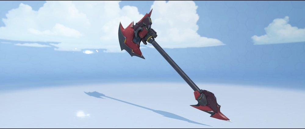 Bloodhardt hammer front legendary skin Reinhardt Overwatch.jpg