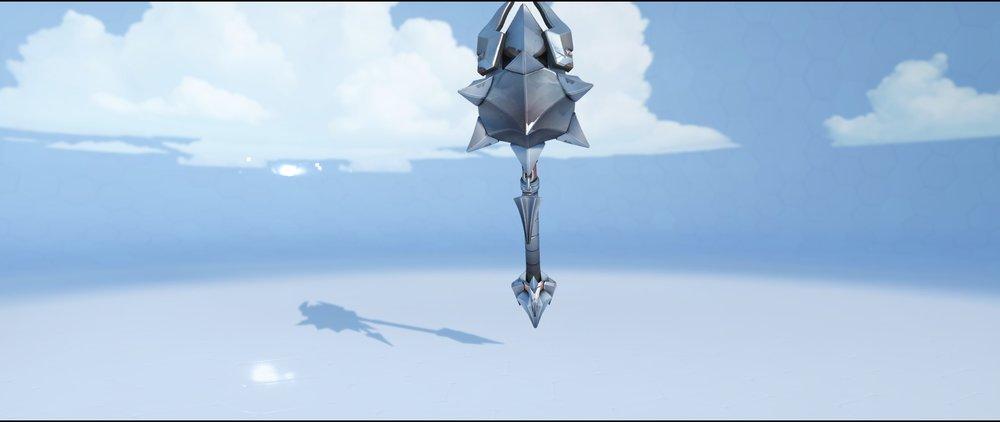 Crusader hammer back legendary skin Reinhardt Overwatch.jpg