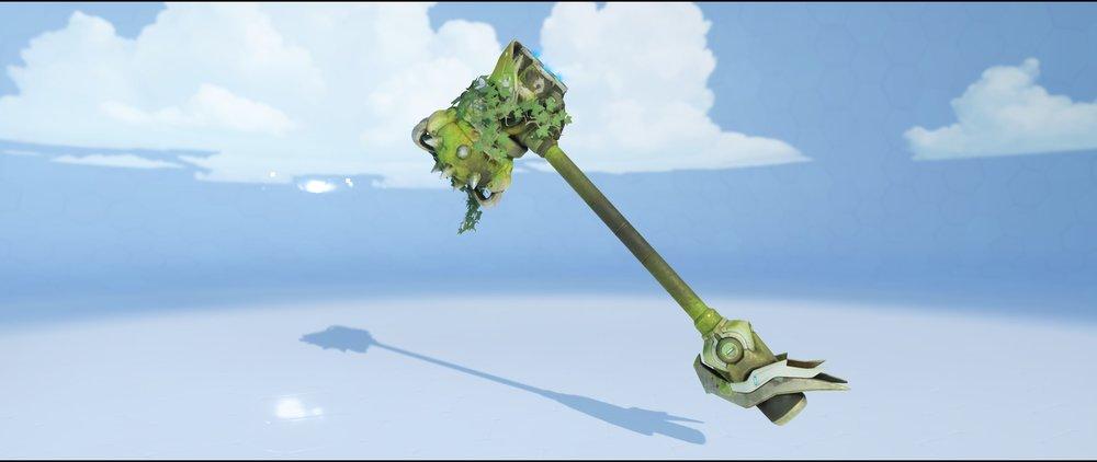 Greifhardt hammer front legendary skin Reinhardt Overwatch.jpg