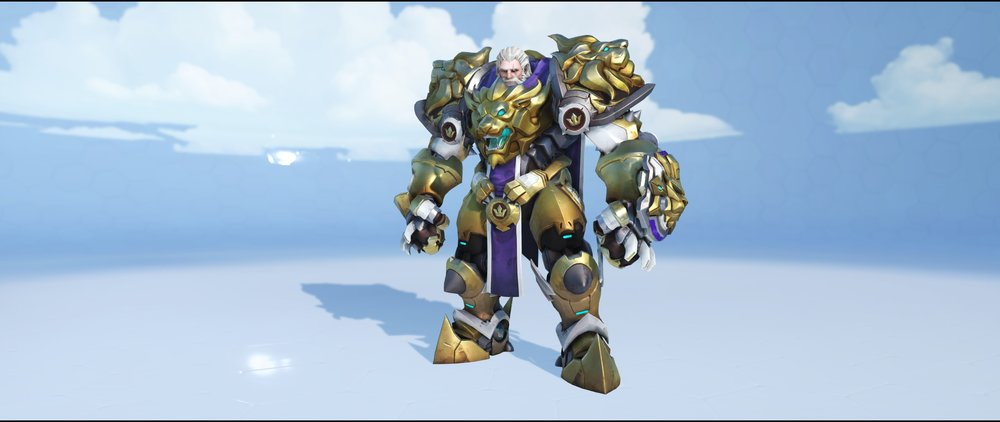 Lionhardt front legendary skin Reinhardt Overwatch.jpg