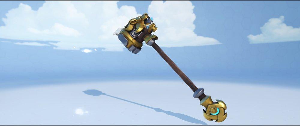 Lionhardt hammer front legendary skin Reinhardt Overwatch.jpg