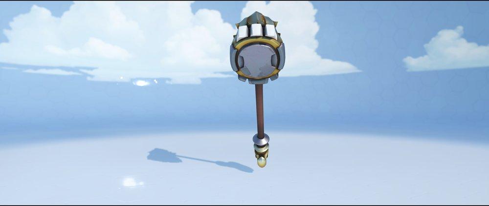 Lionhardt hammer back legendary skin Reinhardt Overwatch.jpg