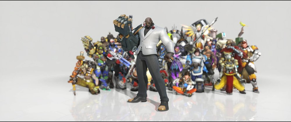 Formal front legendary Anniversary skin Doomfist Overwatch.jpg