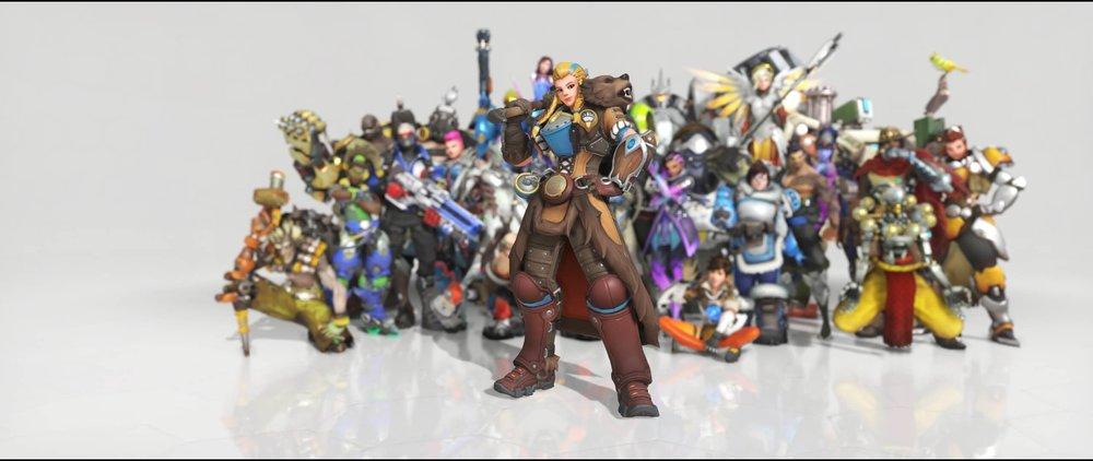 Shieldmaiden front legendary Anniversary skin Brigitte Overwatch.jpg