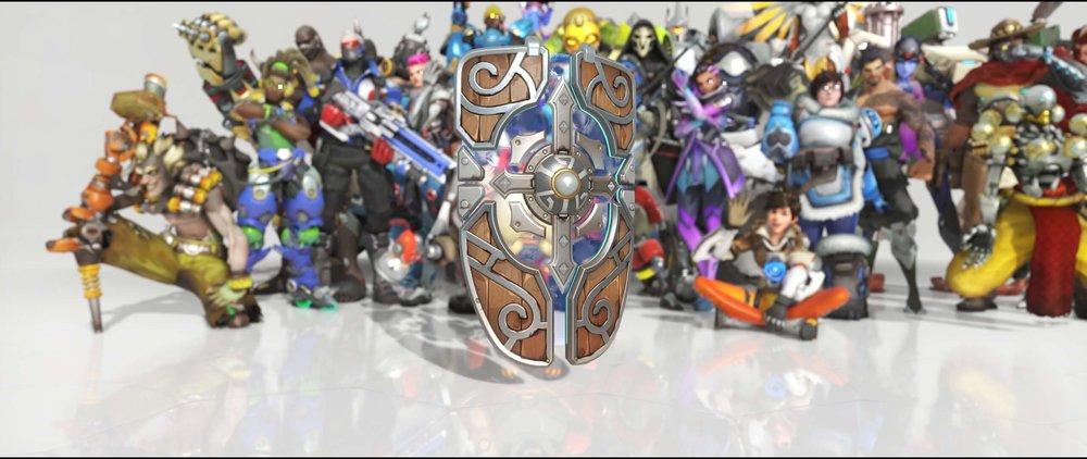 Shieldmaiden shield front legendary Anniversary skin Brigitte Overwatch.jpg