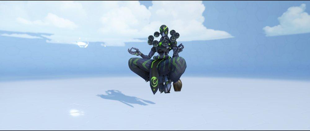 Carbon Fiber front epic skin Zenyatta Overwatch.jpg