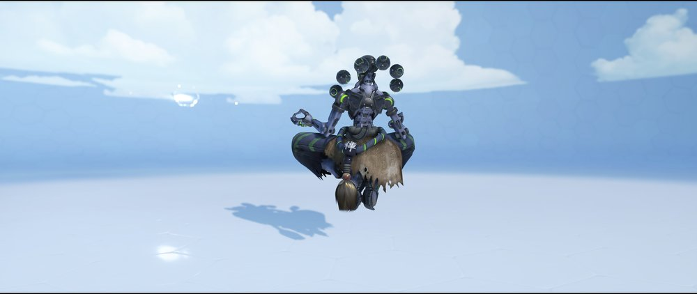 Carbon Fiber back epic skin Zenyatta Overwatch.jpg