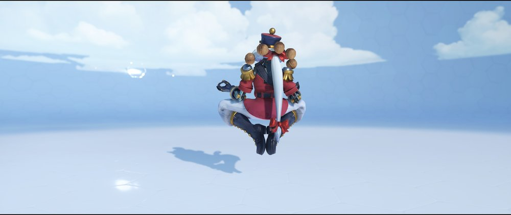 Nutcracker back legendary Winter Wonderland skin Zenyatta Overwatch.jpg