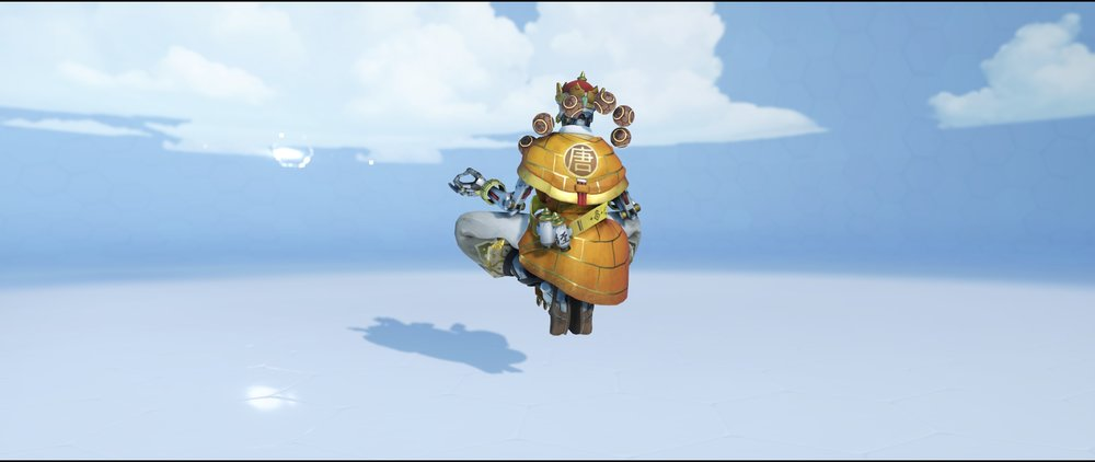 Sanzang back legendary Lunar New Year skin Zenyatta Overwatch.jpg