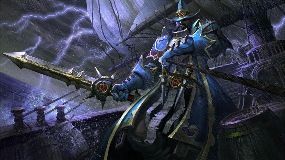 Witch Hunter Templar loading screen for Kunkka - Valve