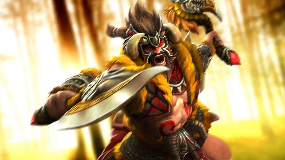 Chimera's Rage loading screen for Beastmaster - Valve