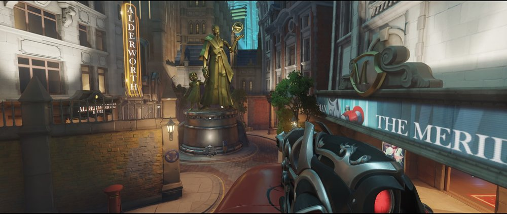 Bus one offense Widowmaker Kings Row Overwatch.jpg