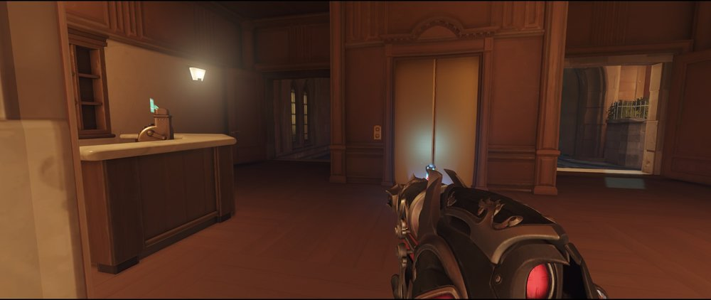 Hotel route offense Widowmaker Kings Row Overwatch.jpg