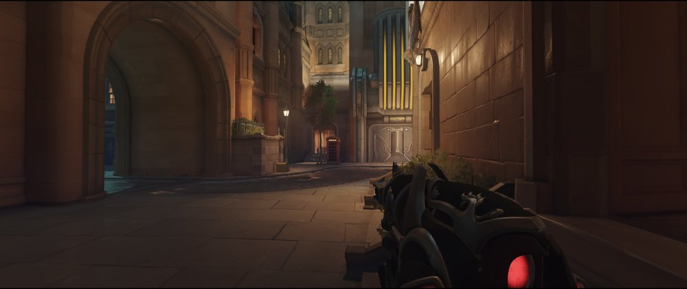 Hotel flanking route offense Widowmaker Kings Row Overwatch.jpg