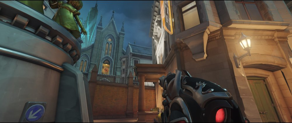 Spawn point defense Widowmaker Kings Row Overwatch.jpg
