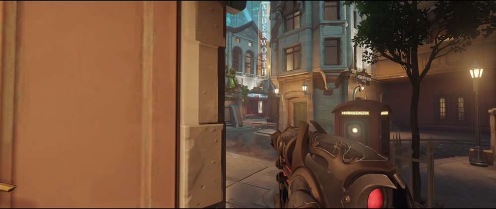 Main position first point defense Widowmaker Kings Row Overwatch.jpg