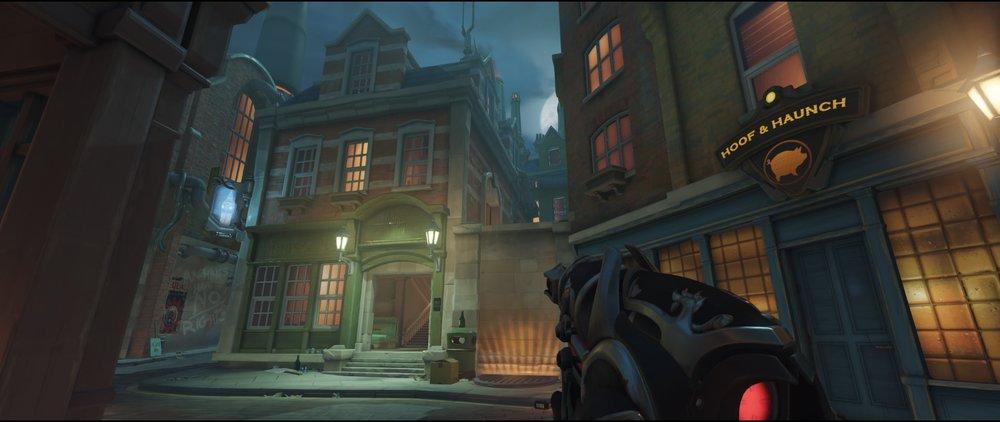 Advanced high ground second point attack Widowmaker Kings Row Overwatch.jpg