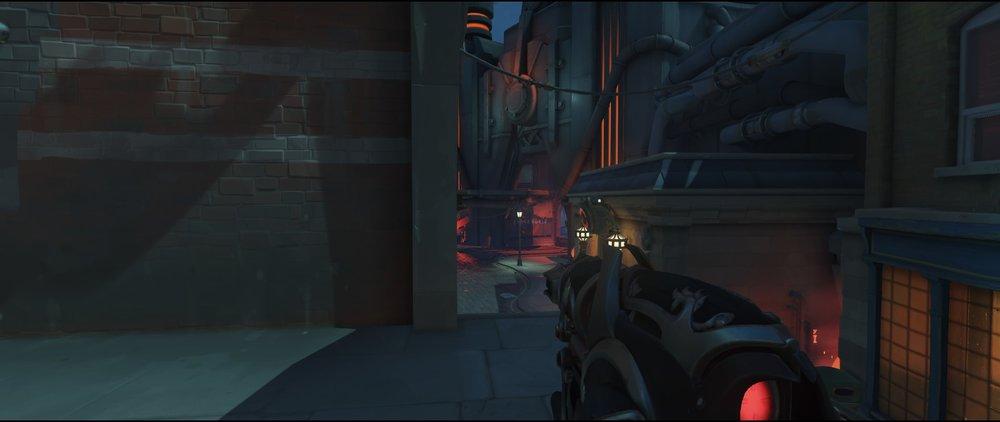 Advanced high ground placement attack Widowmaker Kings Row Overwatch.jpg