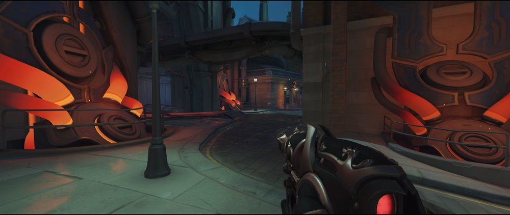 Flank route spot attack Widowmaker Kings Row Overwatch.jpg