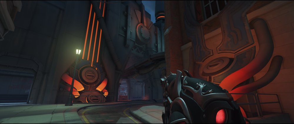 Retreat second point defense Widowmaker Kings Row Overwatch.jpg