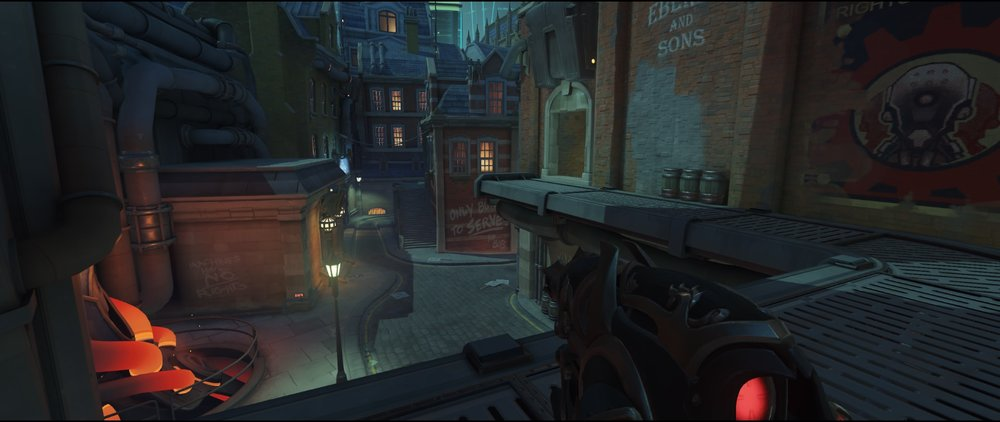 Catwalk second point defense Widowmaker Kings Row Overwatch.jpg