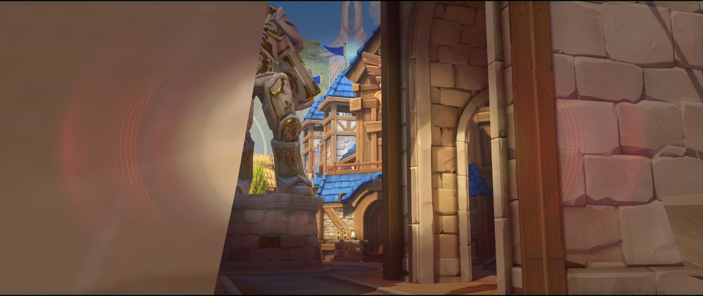 Left side statue view attack sniping spot Widowmaker Blizzard World Overwatch.jpg
