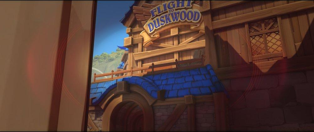 Right side entrance high ground attack sniping spot Widowmaker Blizzard World Overwatch.jpg