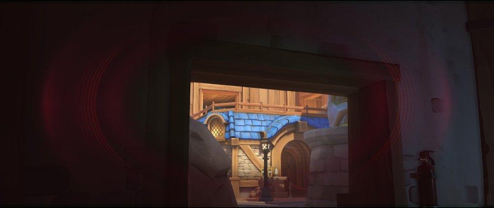 Wikings shop view high ground attack sniping spot Widowmaker Blizzard World Overwatch.jpg