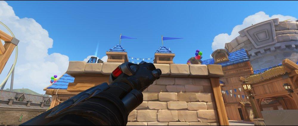 High ground point one attack sniping spot Widowmaker Blizzard World Overwatch.jpg