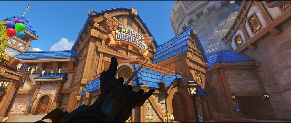 High ground basic defense sniping spot Widowmaker Blizzard World Overwatch.jpg