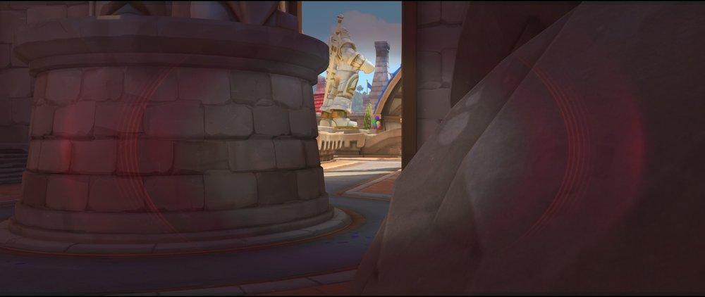 Far view entrance defense sniping spot Widowmaker Blizzard World Overwatch.jpg