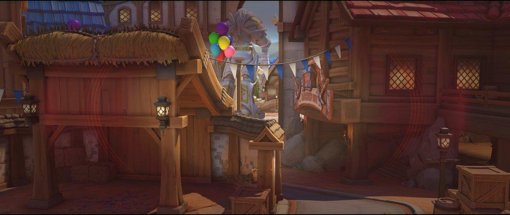 First point area to entrance defense sniping spot Widowmaker Blizzard World Overwatch.jpg
