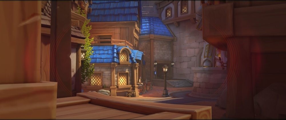 First point boxes on the left defense sniping spot Widowmaker Blizzard World Overwatch.jpg