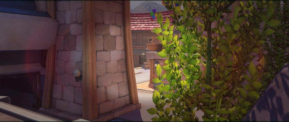 First point secondary tank view defense sniping spot Widowmaker Blizzard World Overwatch.jpg