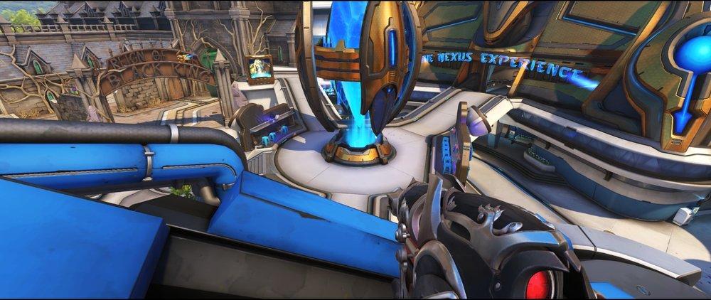 Tank second view attack sniping spot Widowmaker Blizzard World Overwatch.jpg