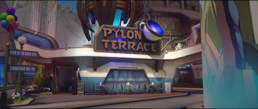 Basic spot high ground view second point attack sniping spot Widowmaker Blizzard World Overwatch.jpg