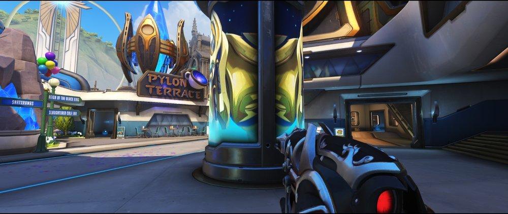 Pillar second point attack sniping spot Widowmaker Blizzard World Overwatch.jpg