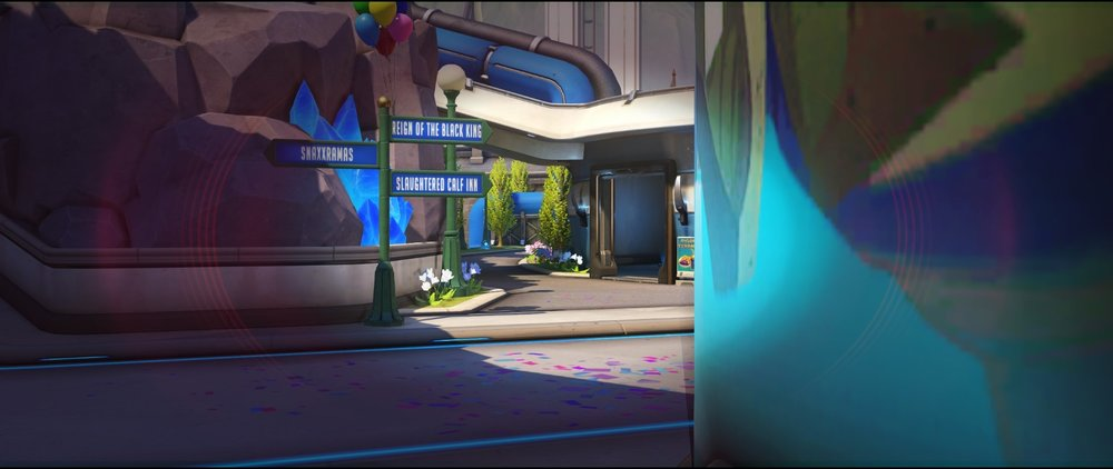 Pillar view second point attack sniping spot Widowmaker Blizzard World Overwatch.jpg