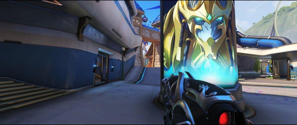 Basic spot pillar second point defense sniping spot Widowmaker Blizzard World Overwatch.jpg