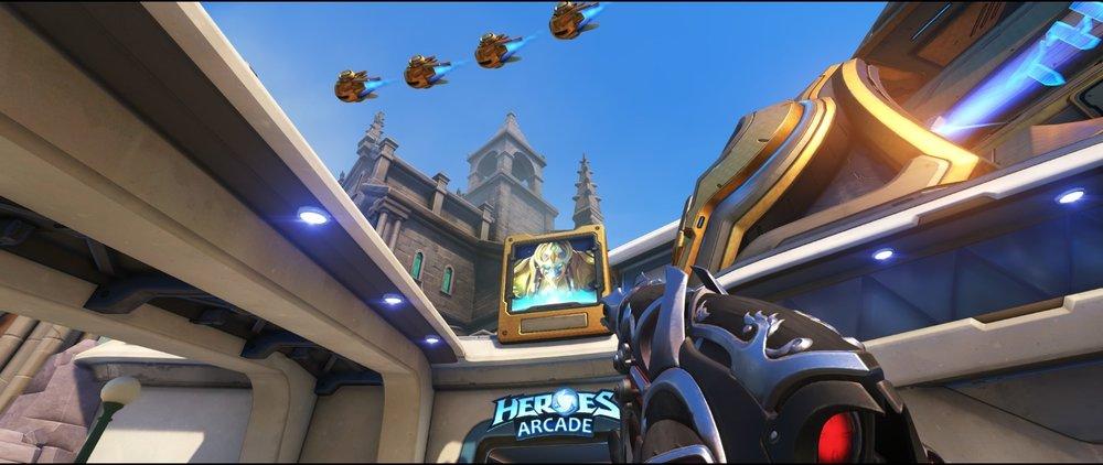 High ground arcade defense sniping spot Widowmaker Blizzard World Overwatch.jpg