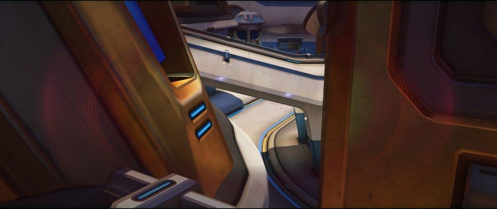 Left view arcade defense sniping spot Widowmaker Blizzard World Overwatch.jpg