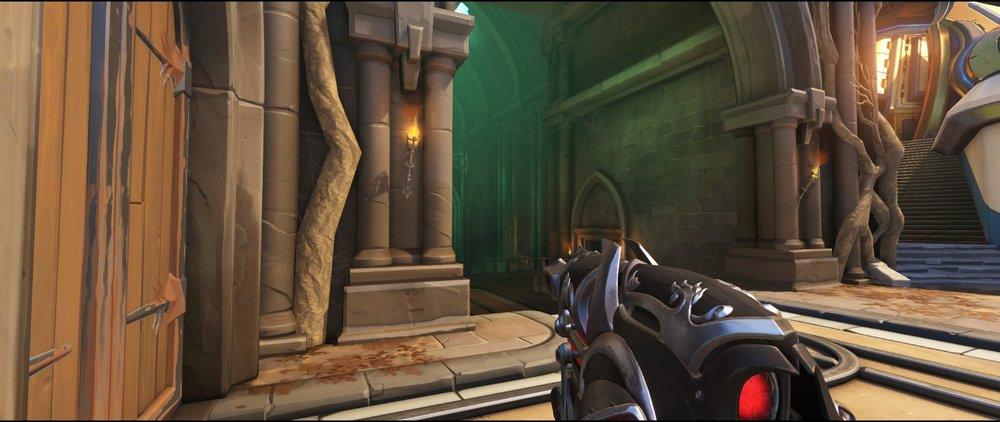 Entrance third point offense sniping spot Widowmaker Blizzard World Overwatch.jpg