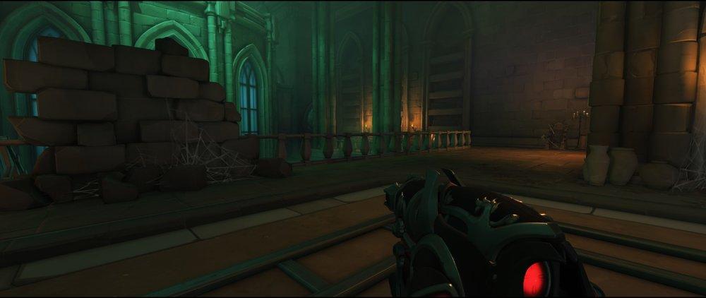 Right side third point attack sniping spot Widowmaker Blizzard World Overwatch.jpg