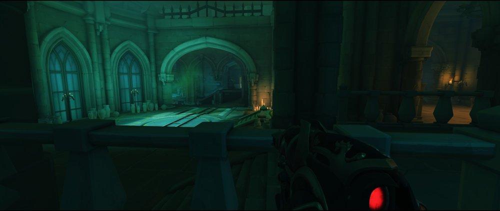 Flank right side third point attack sniping spot Widowmaker Blizzard World Overwatch.jpg
