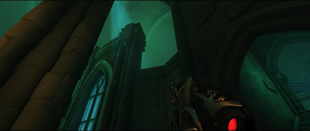 High ground right side third point attack sniping spot Widowmaker Blizzard World Overwatch.jpg