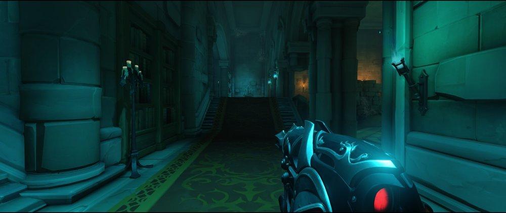 Corridor left side attack sniping spot Widowmaker Blizzard World Overwatch.jpg