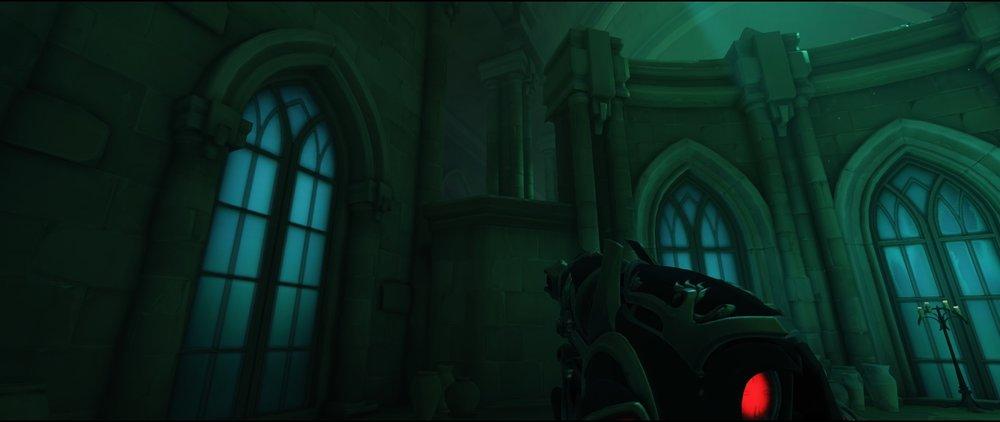 Main high ground third point defense sniping spot Widowmaker Blizzard World Overwatch.jpg