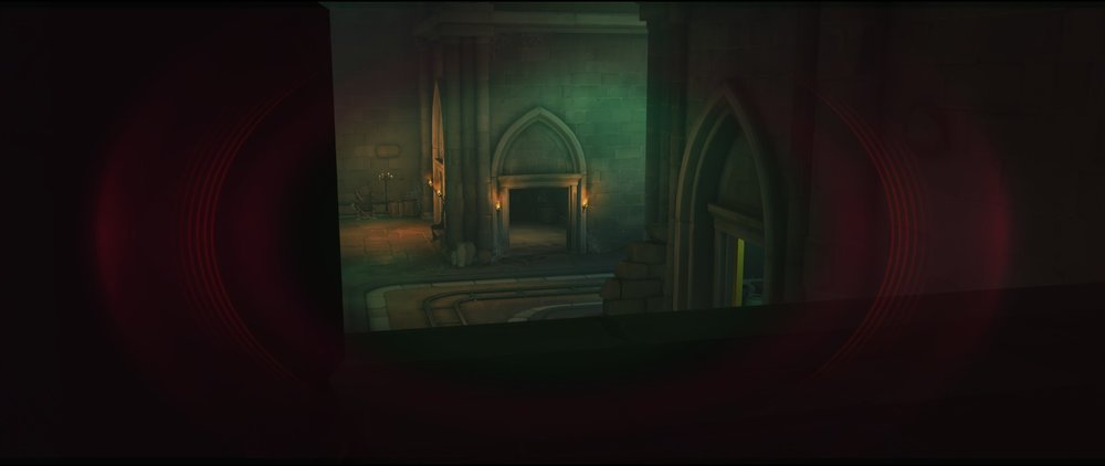 View from high ground third point defense sniping spot Widowmaker Blizzard World Overwatch.jpg