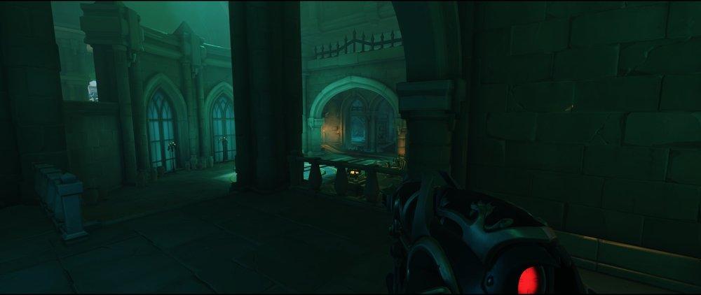 From base third point defense sniping spot Widowmaker Blizzard World Overwatch.jpg