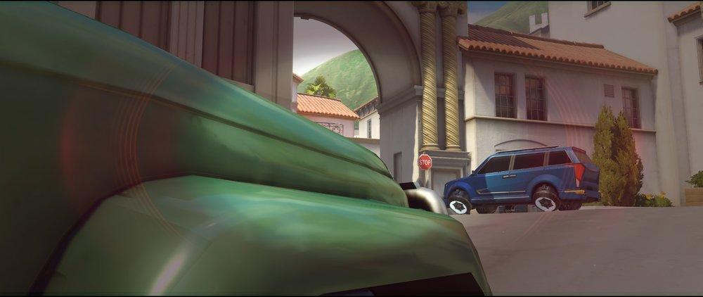 Green car offense Widowmaker sniping spots Hollywood Overwatch.jpg